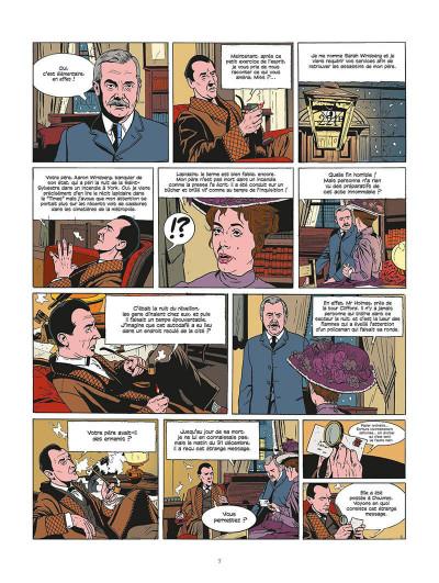 Page 8 les archives secrètes de Sherlock Holmes tome 2 - le club de la mort