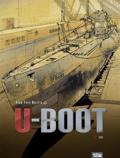 Couverture U-Boot tome 3 - le secret de Peenemünde