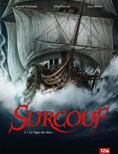 Couverture Surcouf tome 2 - le tigre des mers