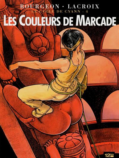 Couverture le cycle de Cyann tome 4 - les couleurs de Marcade - ned