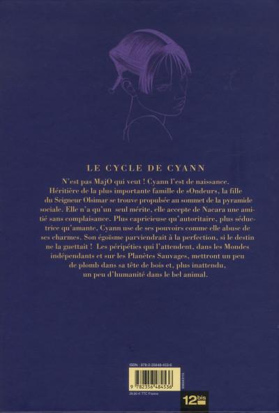 Dos le cycle de Cyann tome 5 - luxe