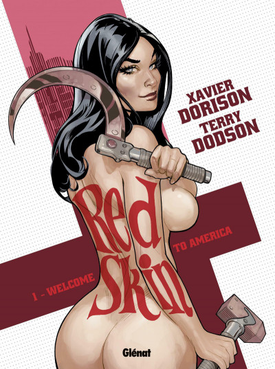 Couverture red skin tome 1 - Welcome to America