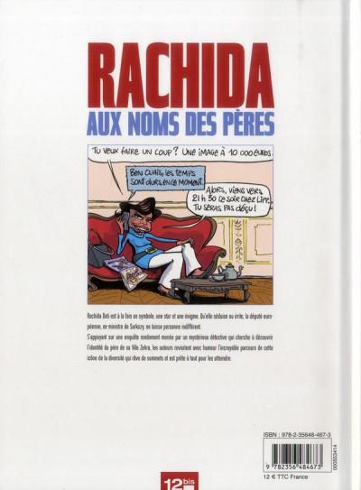 Dos Rachida - Aux noms des pères