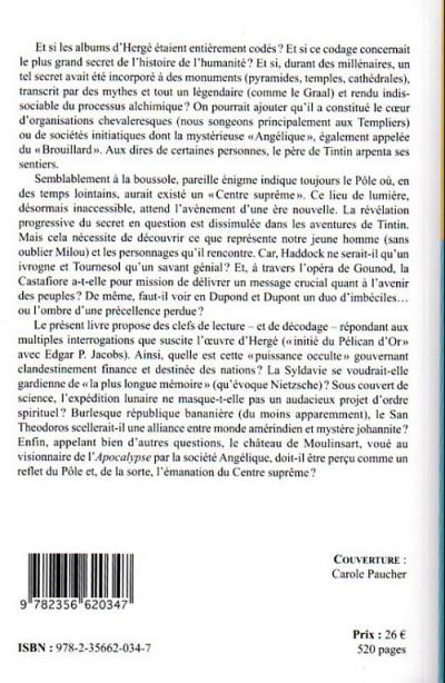 Dos Hergé et l'énigme du pôle