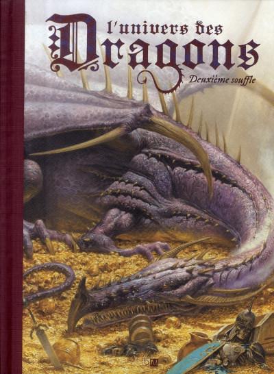 Couverture l'univers des dragons tome 2 - deuxième souffle
