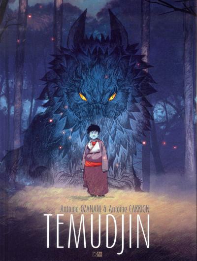 Couverture Temudjin T.1