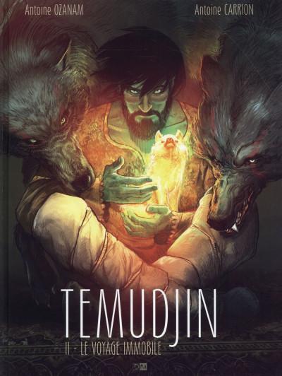 Couverture Temudjin tome 2
