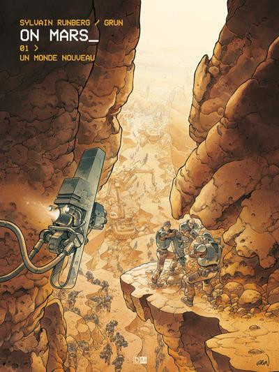 Couverture On Mars tome 1