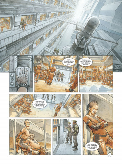 Page 3 On Mars tome 1