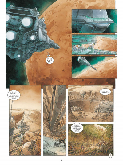 Page 4 On Mars tome 1