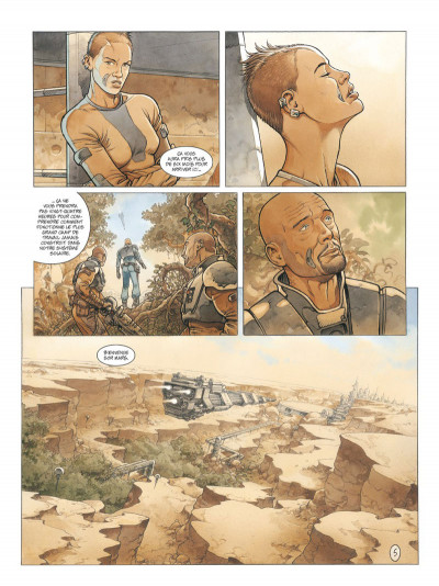 Page 5 On Mars tome 1