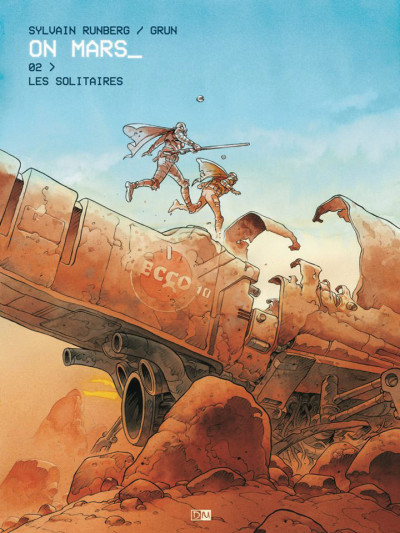 Couverture On mars tome 2