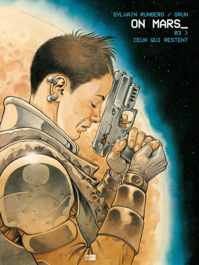 Couverture On Mars tome 3