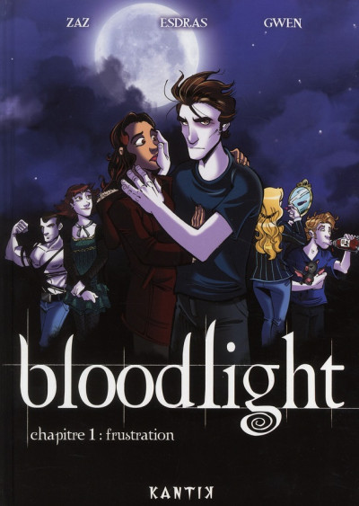 Couverture bloodlight tome 1 - frustration