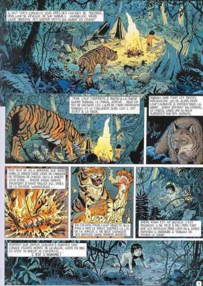 Page 1 Incontournables de la littérature en BD (Les) tome 5 - Le Livre de la jungle (éd. 2010)