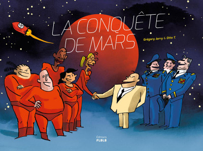 Couverture La conquête de Mars - intégrale
