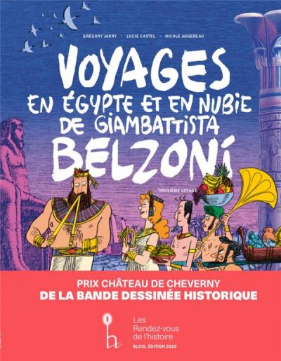 Couverture Voyages en Egypte et en Nubie de Giambattista Belzoni - troisième voyage