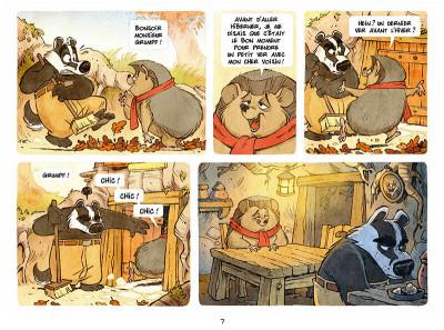 Page 5 Sous les arbres tome 1