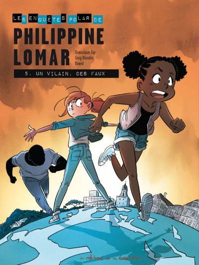 Couverture Philippine Lomar tome 5