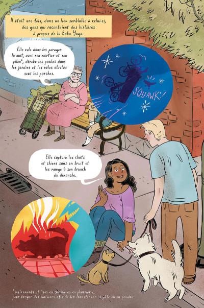 Page 4 L'assistante de la Baba Yaga