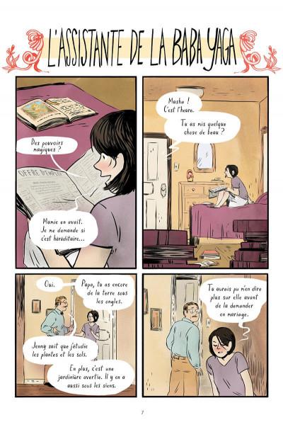 Page 7 L'assistante de la Baba Yaga