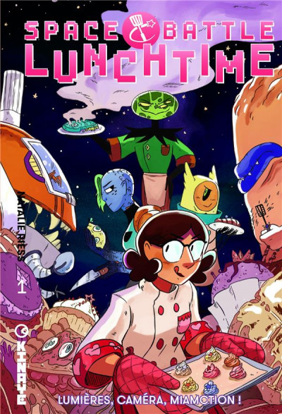 Couverture Space battle lunchtime tome 1