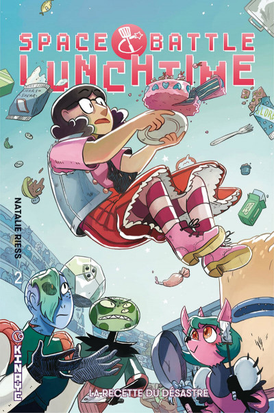 Couverture Space battle lunchtime tome 2