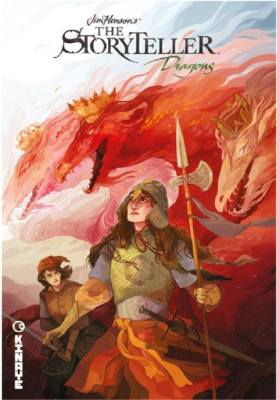 Couverture The storyteller dragons