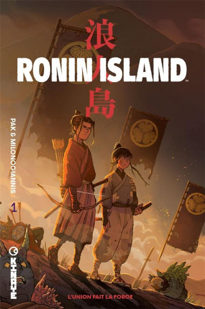 Couverture Ronin island tome 1