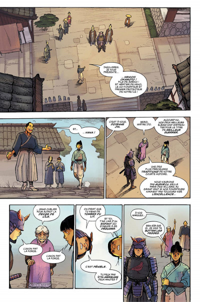Page 0 Ronin island tome 1