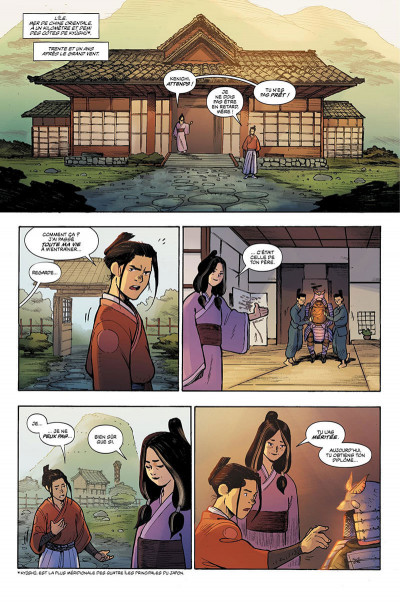 Page 7 Ronin island tome 1
