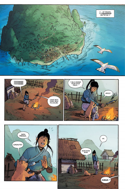 Page 8 Ronin island tome 1