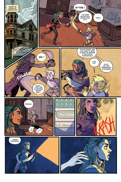 Page 9 Misfit city tome 1