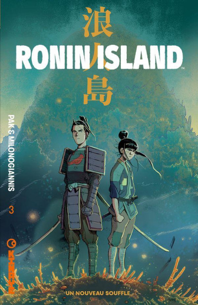 Couverture Ronin island tome 3
