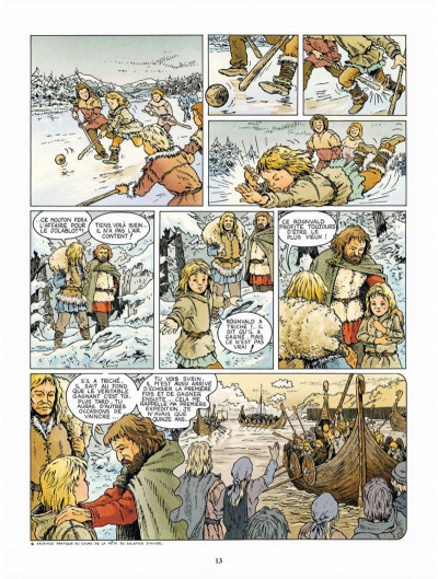 Page 2 Svein, compagnon d'Hasting tome 1