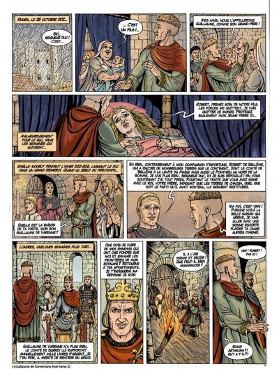 Page 4 Les fils de Guillaume tome 3