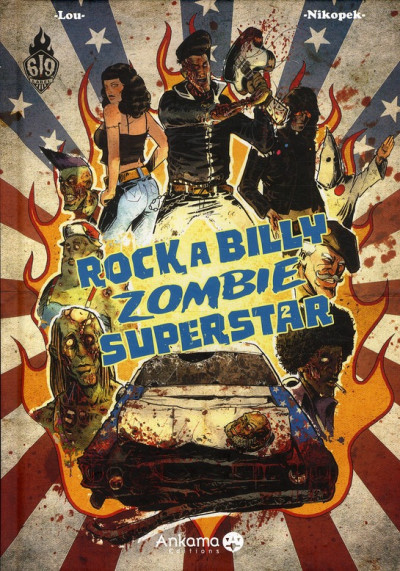Couverture Rock a Billy zombie superstar T.2