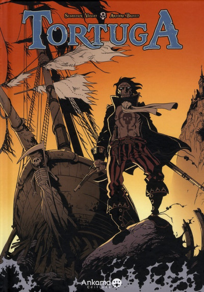 Couverture tortuga tome 1