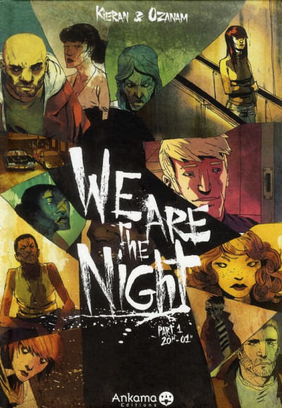 Couverture we are the night tome 1