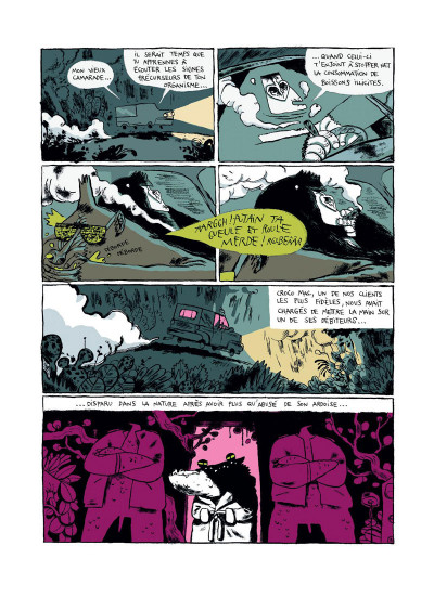 Page 3 Monkey Bizness tome 1