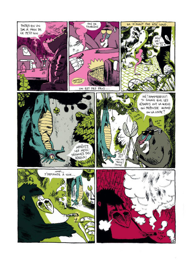 Page 4 Monkey Bizness tome 1