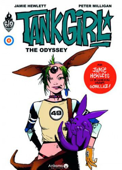 Couverture Tank Girl tome 4 - The odyssey