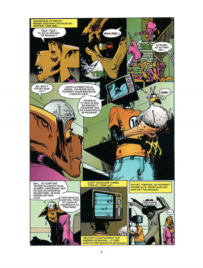 Page 6 Tank Girl tome 4 - The odyssey