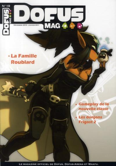 Couverture dofus mag ; décembre 2010-janvier 2011