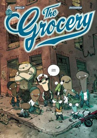 Couverture The grocery tome 1