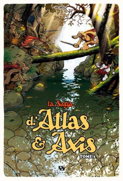 Couverture La saga d'Atlas & d'Axis tome 1