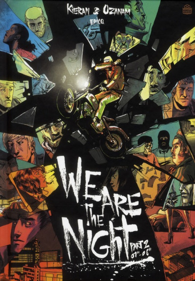 Couverture we are the night tome 2