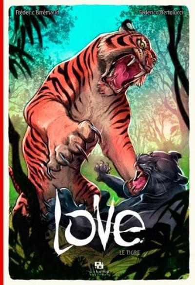 Couverture love tome 1 - le tigre