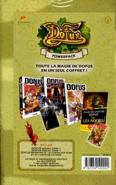 Dos dofus ; coffret powerpack
