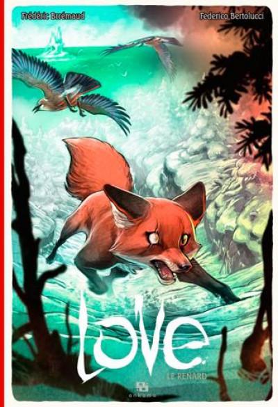 Couverture Love tome 2 - le renard